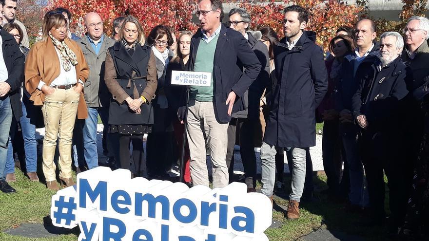 """Alonso (PP) dice que """"falsear la memoria"""" de las víctimas del terrorismo es una """"injusticia sobre toda la sociedad"""""""