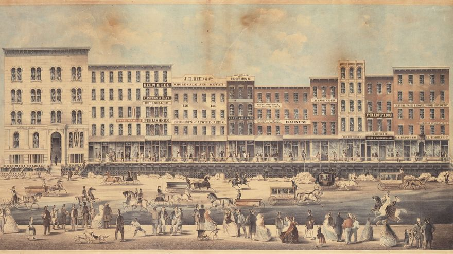 Chicago se elevó más de cuatro pies en el siglo XIX para construir su alcantarillado.
