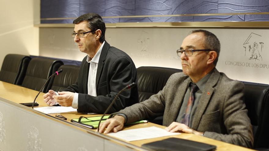 """IU-ICV avisa del """"autoritarismo"""" del pacto antiyihadista y reprocha al PSOE que haga de """"muletilla"""" del Gobierno"""