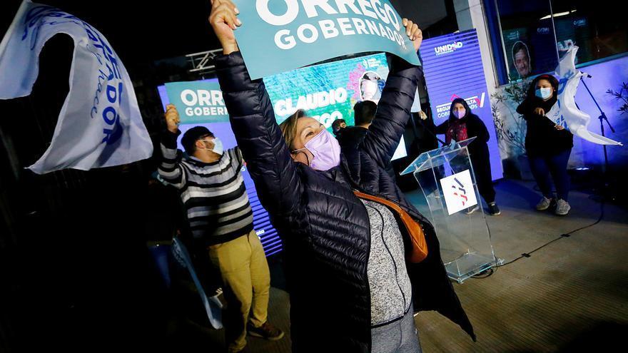 Regionales de Chile reviven al centroizquierda y hunden más a la derecha