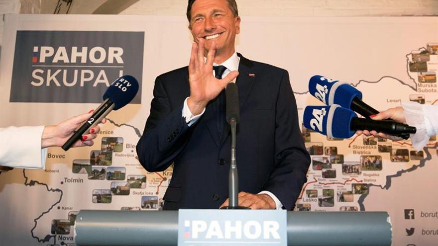 Pahor ofrece experiencia y continuismo para ser reelegido presidente esloveno