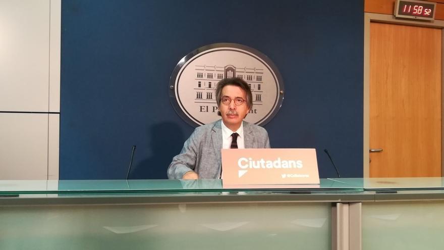 """Cs critica la """"pusilanimidad"""" del Govern balear ante la actuación de Arran contra el turismo"""
