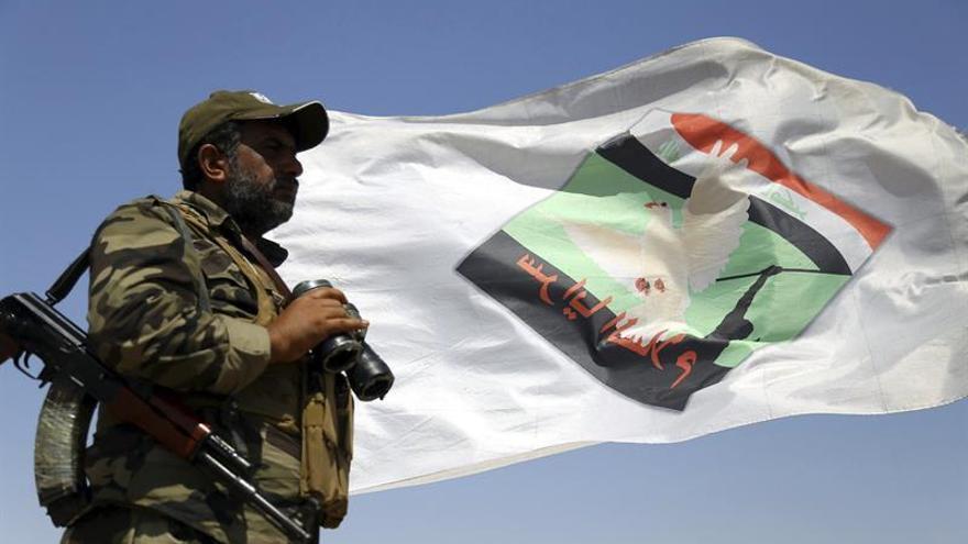 Milicias progubernamentales repelen dos ataques del EI en el norte de Irak