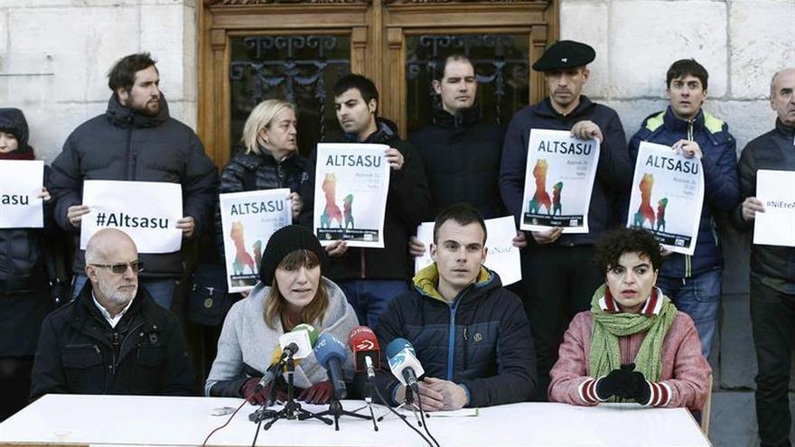 Alcaldes navarros piden que la A.Nacional devuelva el sumario de Alsasua a Pamplona