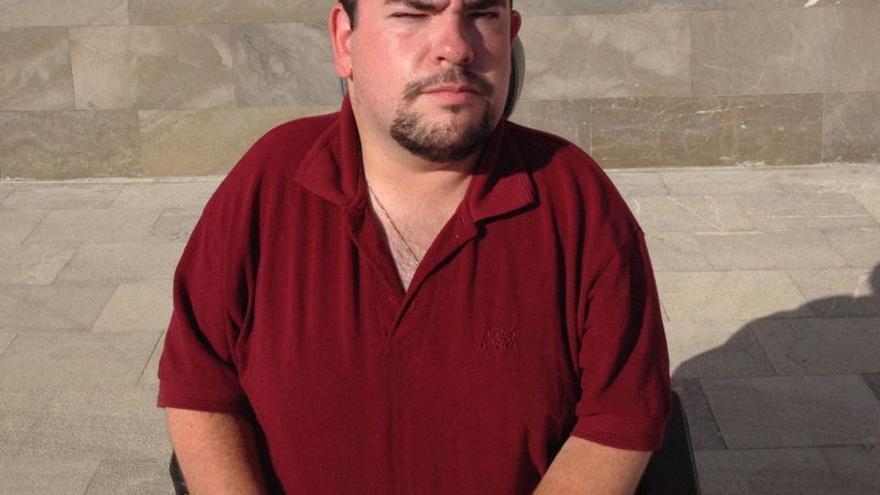 Juan de Dios López Torres, el dependiente que dejó Murcia porque no conseguía las prestaciones que necesitaba.