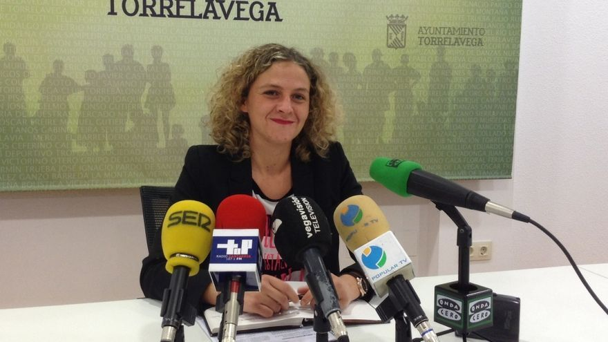 La concejal de Servicios Sociales del Ayuntamiento de Torrelavega, Patricia Portilla