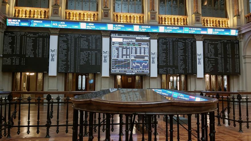 La Bolsa española sube tras una apertura a la baja y supera los 8.600 puntos