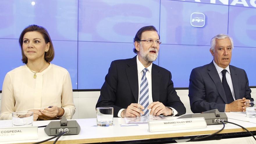 """'Génova' denuncia que el """"único objetivo"""" de Sánchez, Rivera e Iglesias es """"formar coaliciones"""" para echar el PP"""