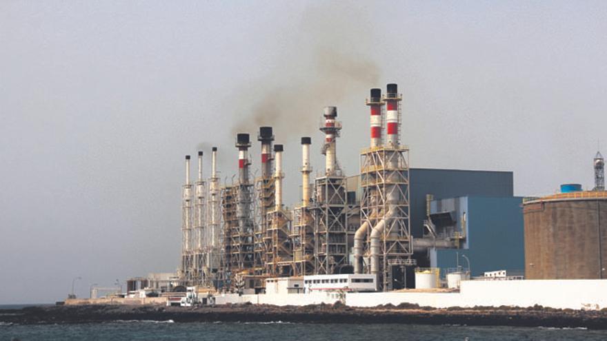 Central eléctrica en Punta Grande, Lanzarote