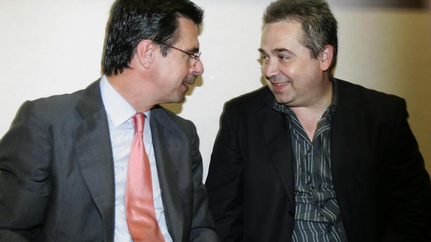 José Manuel Soria y el exjefe de prensa Juan Santana
