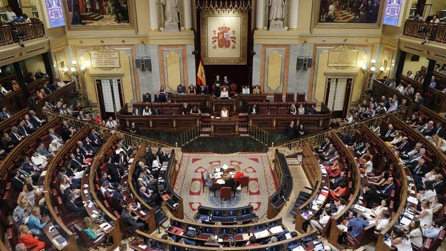 Los grupos del Congreso quedarán definitivamente constituidos el 29 de julio