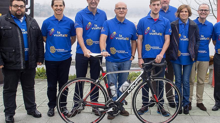 Baltar, este martes en la presentación de la salida de la Vuelta a España
