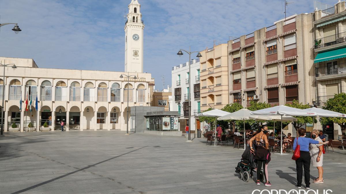El Ayuntamiento de Lucena, en una imagen de archivo
