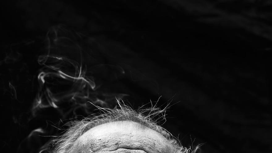 El escritor Jim Harrison. | ANDY ANDERSON