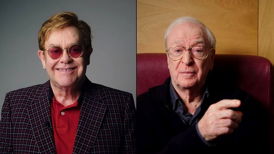 Elton John / Michael Caine
