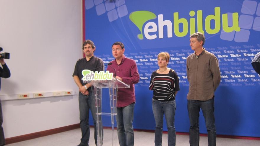 """EH Bildu se compromete a """"posibilitar el cambio político"""" en Navarra"""