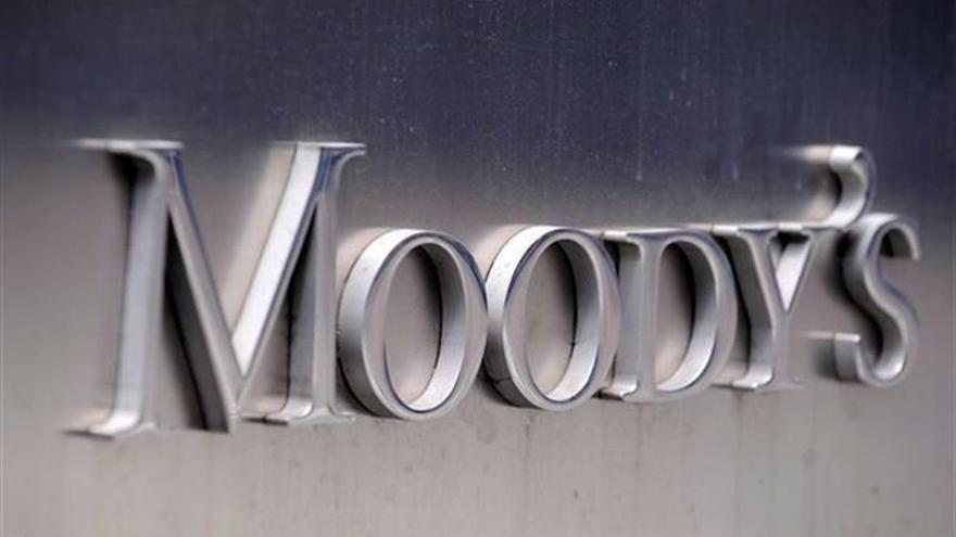 Logo de la agencia de 'rating' Moody's.