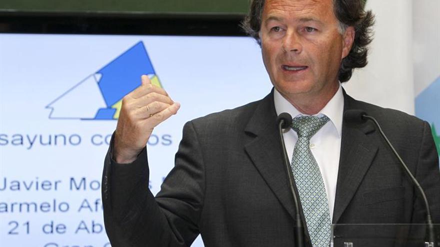 El candidato de Coalición Canaria a las próximas elecciones europeas, Javier Morales