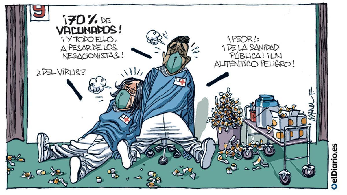 70% de vacunados
