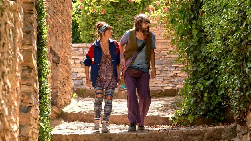 Ingrid García Rubio y Santi Millán, en 'El Pueblo'