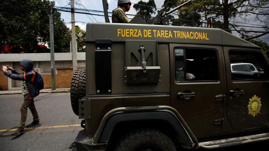 EE.UU. suspende parte de su ayuda militar a Guatemala por el uso indebido de equipos