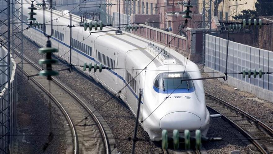 China invertirá medio billón de dólares en sus ferrocarriles hasta 2020