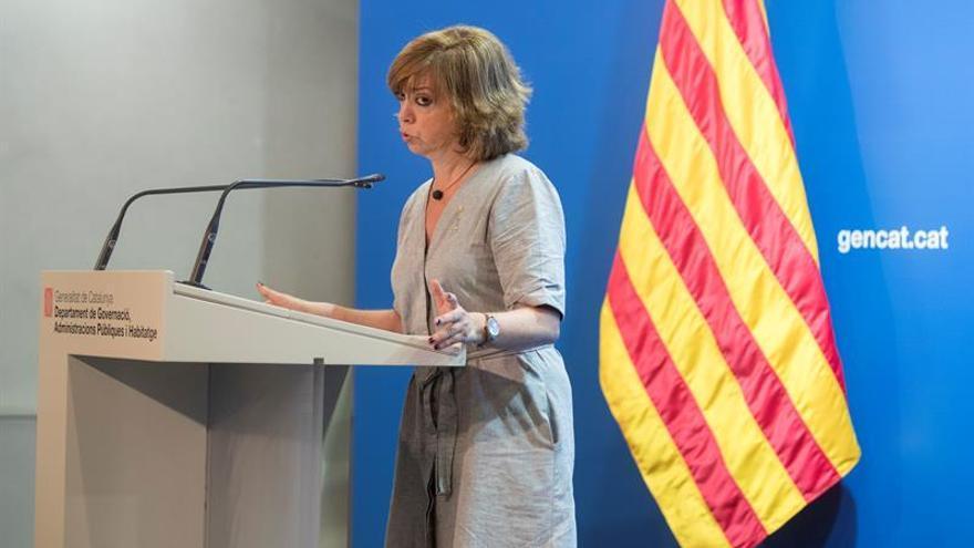 Consellera catalana dice que tienen el mismo derecho que Andalucía a comprar urnas