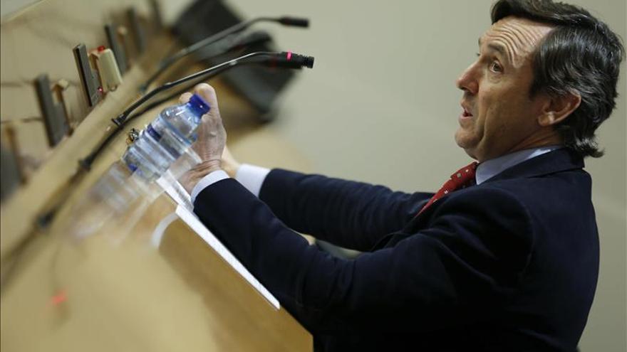 El portavoz del PP en el Congreso, Rafael Hernando.