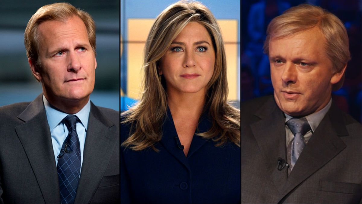 'The Newsroom', 'The Morning Show' y 'Quiz'
