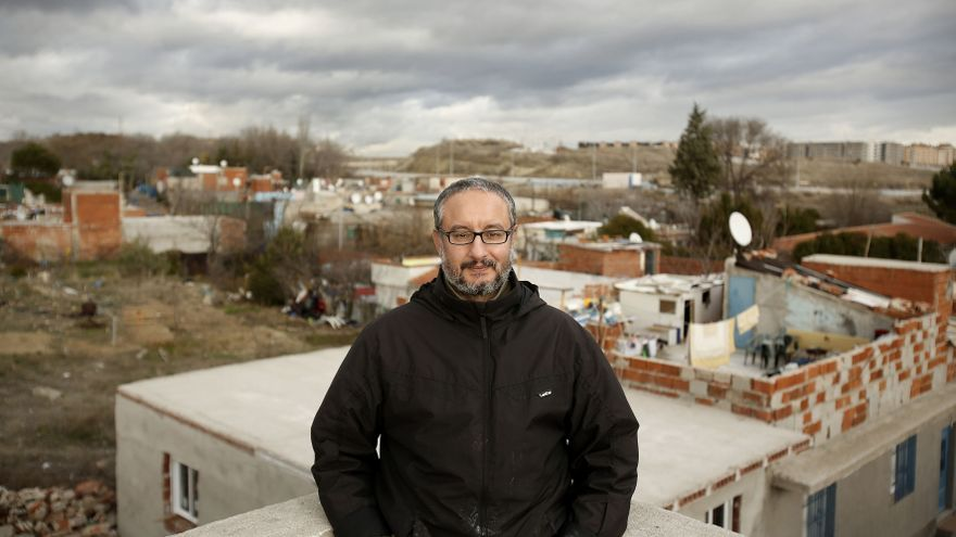 Mahamed Reji, residente del sector cuatro de la Cañada Real de Madrid/ Fotografía: Olmo Calvo