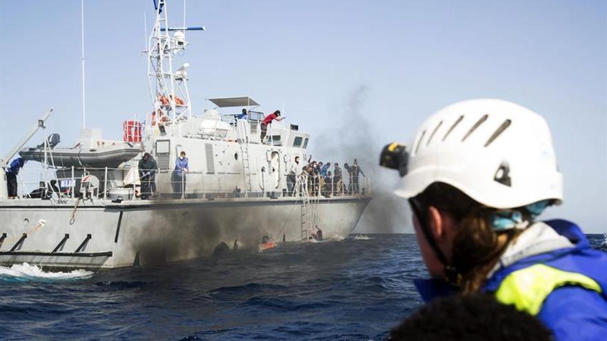 Un vídeo muestra que una patrulla libia causó varios muertos en el Mediterráneo
