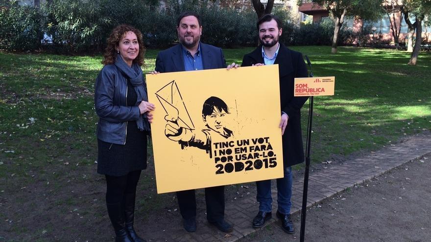"""Junqueras (ERC) estaría """"encantado"""" de compartir un acto electoral con DL"""