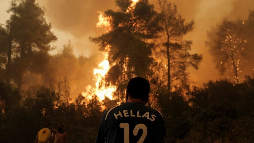 The heat wave reaches Spain and extends the maximum risk of forest fires