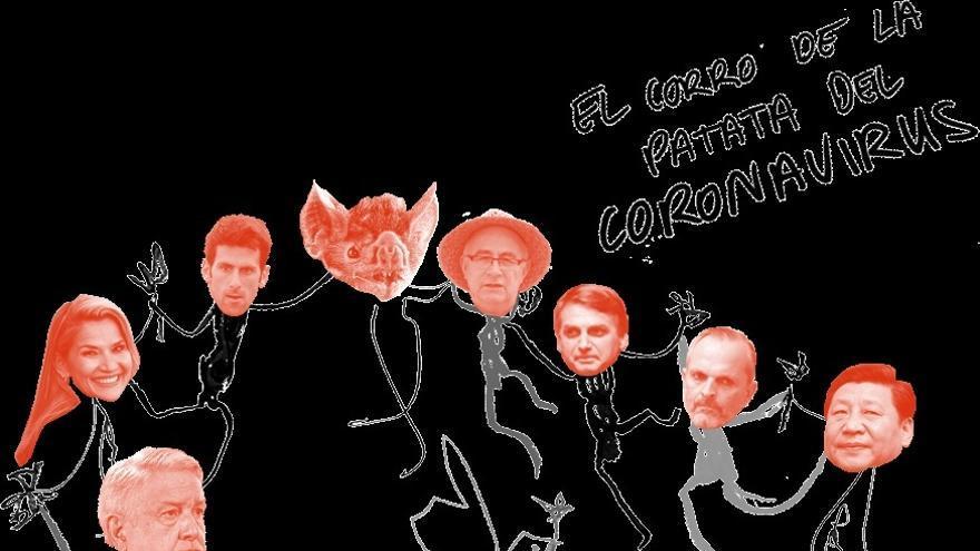 "Coronavirus de Twitter: ""A los virus nos da mucha vida la gente negacionista"""