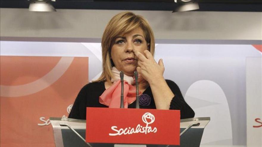 """El PSOE afea la """"fanfarria"""" del Gobierno y dice que hasta Cospedal es insumisa"""