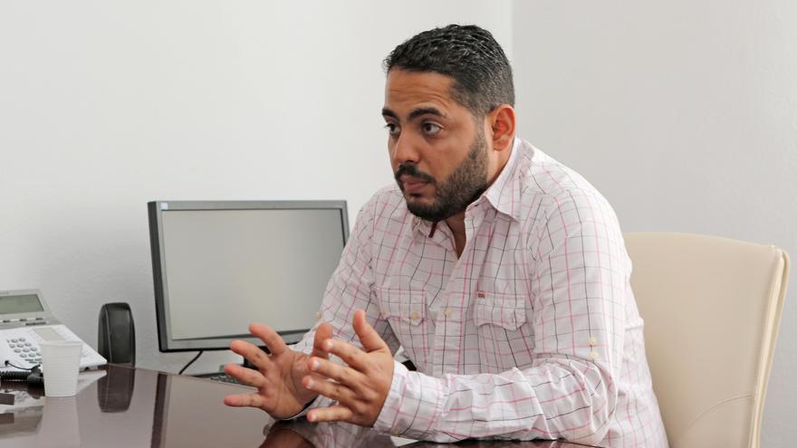 El presidente del Instituto Canario de Hemodonación y Hemoterápia, Christian Méndez.