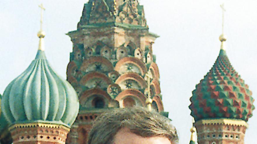 Zimmermann en la Plaza Roja de Moscú