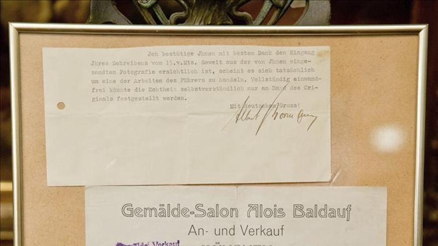 Subastan una acuarela pintada por Hitler por 130.000 euros