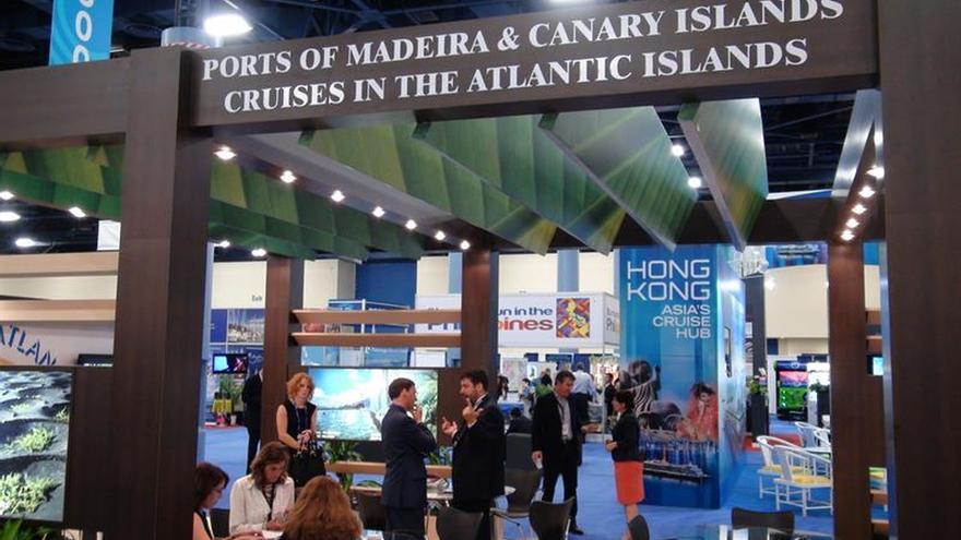 Puertos españoles promueven el sector de los cruceros en la feria Seatrade
