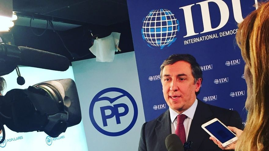 El diputado por Ávila, José Ramón García, anuncia su precandidatura a las primarias del PP
