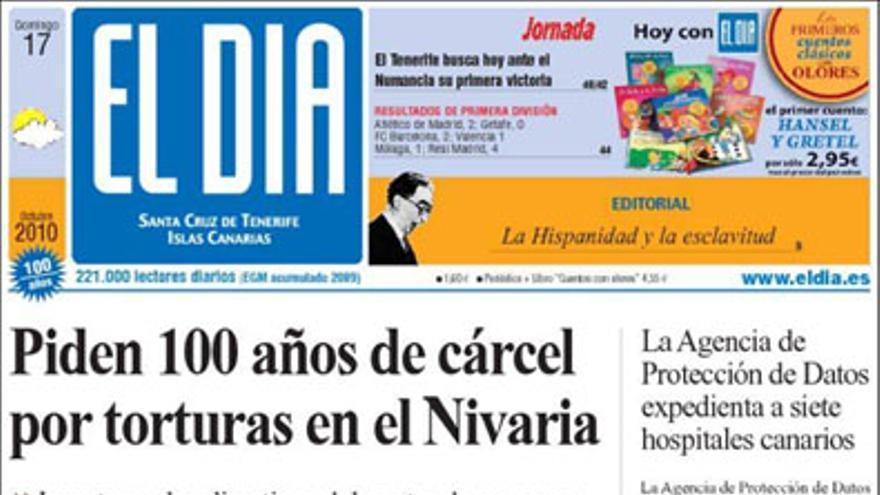 De las portadas del día (17/10/2010) #4