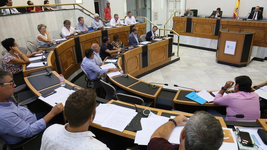Ple de la Diputació d'Alacant.
