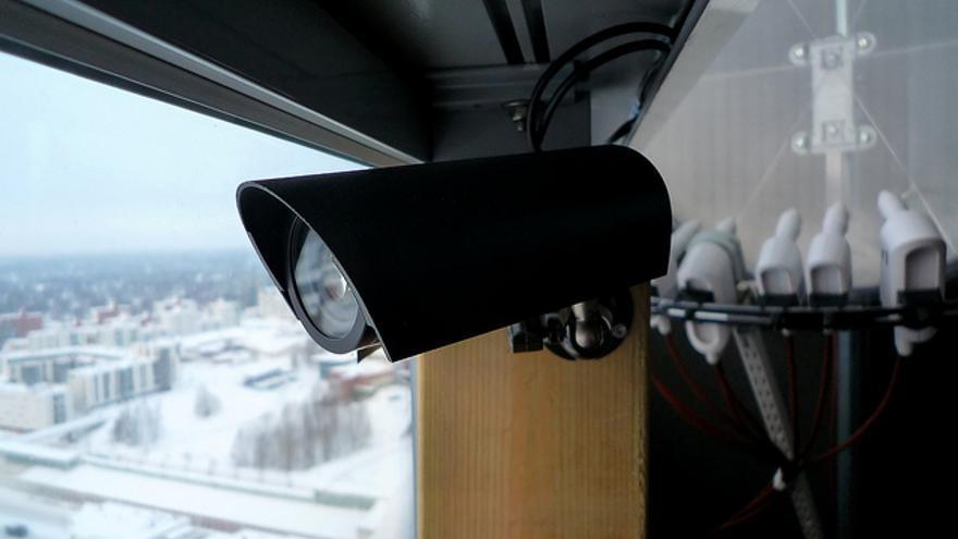Una cámara web en un mirador en Helsinki (Finlandia)