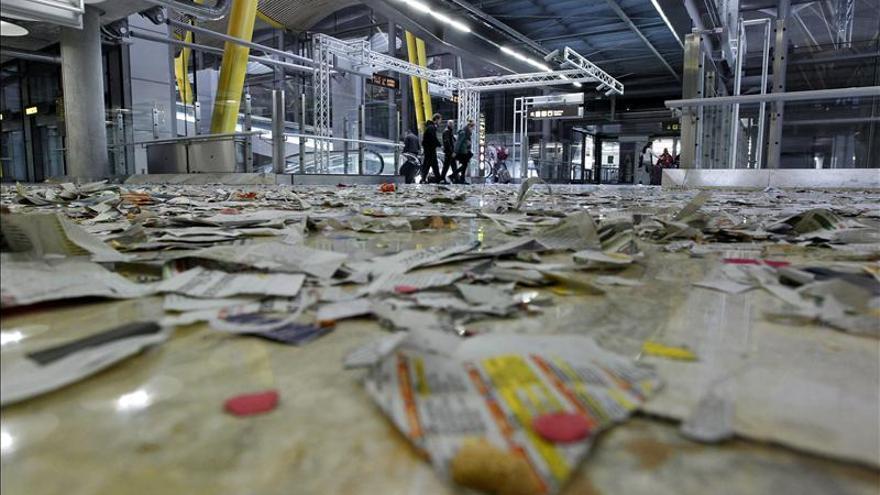 Huelga indefinida en la limpieza de las terminales 1, 2, 3 y 4 de Barajas
