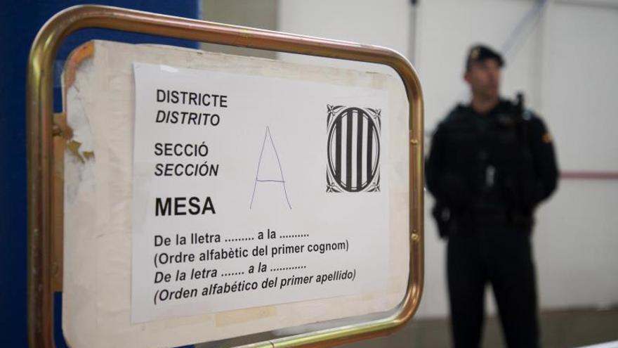 La Guardia Civil volvió el viernes a la Generalitat para buscar pruebas de malversación en el 1-O
