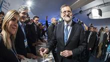 Rajoy es reelegido presidente del PP con un 95,65 por ciento de los votos