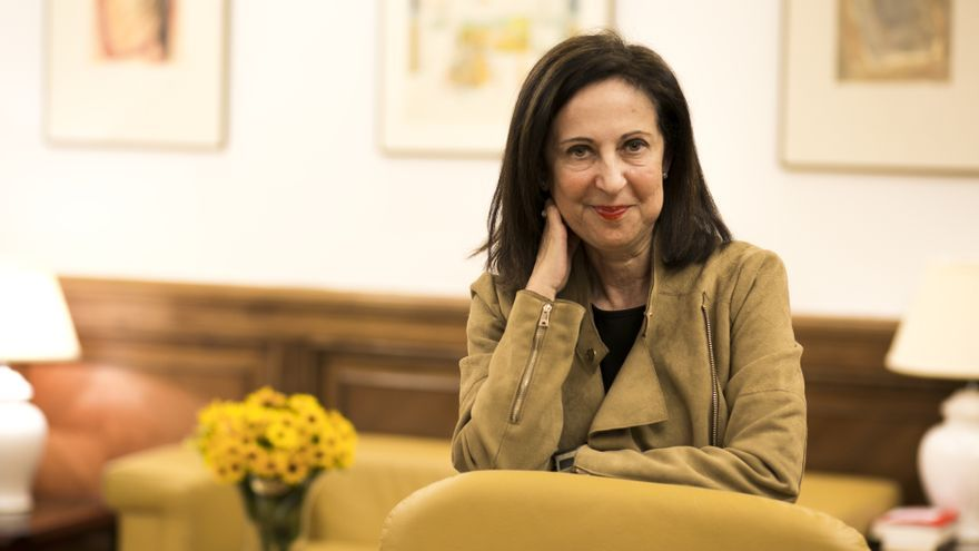 La portavoz socialista en el Congreso, Margarita Robles.