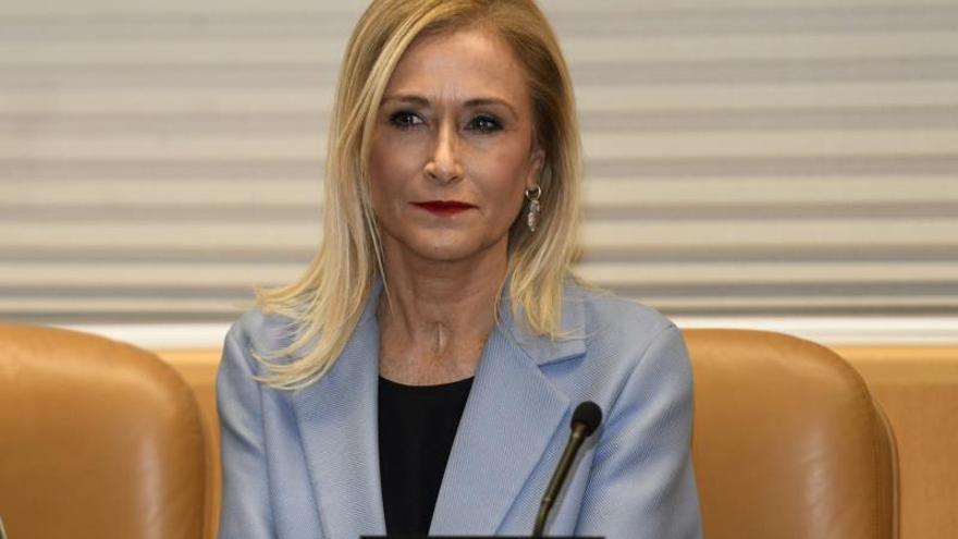 La expresidenta de Madrid Cristina Cifuente.