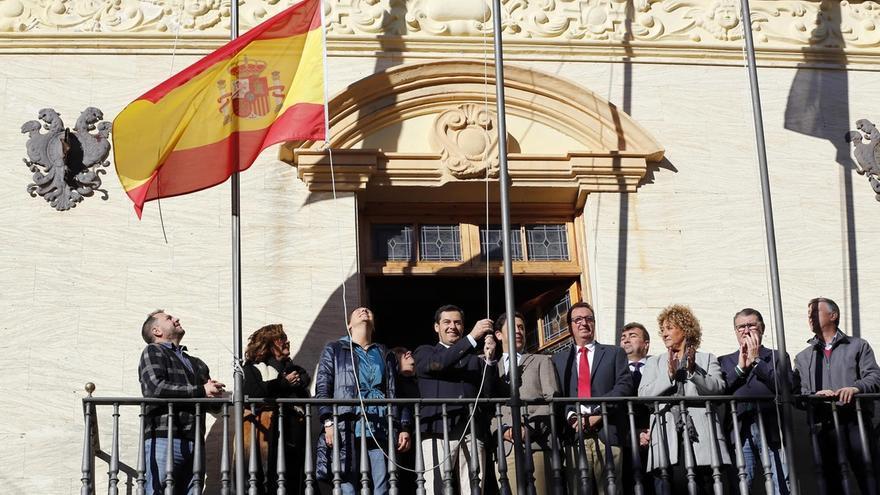 """Moreno (PP-A) muestra su compromiso con la Constitución y asegura que el nuevo Gobierno """"se formará sobre sus pilares"""""""