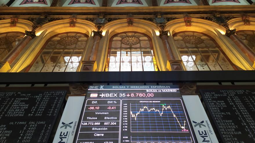 La Bolsa española abre con una caída del 0,28 % pendiente de Inditex